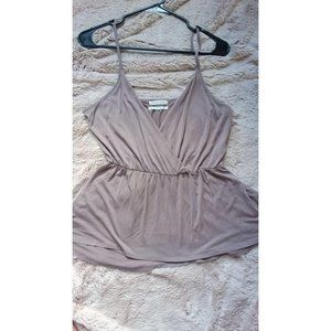 Urban Outfitters Tank Top Taupe Neutral